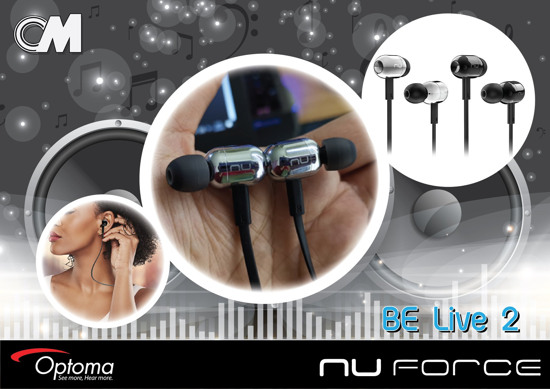 Optoma Nuforce Be live2